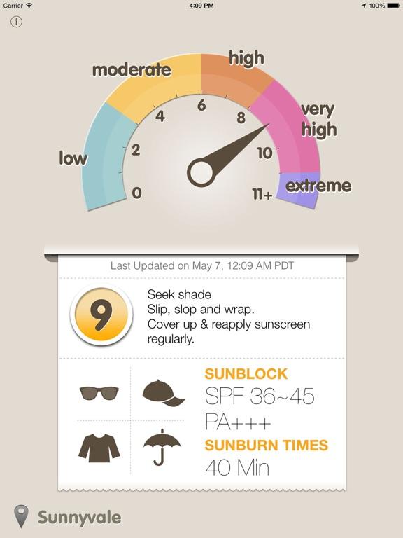 UVmeter - Check your UV Index screenshot