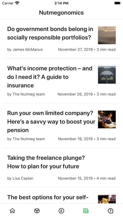 Nutmeg Saving & Investment screenshot two