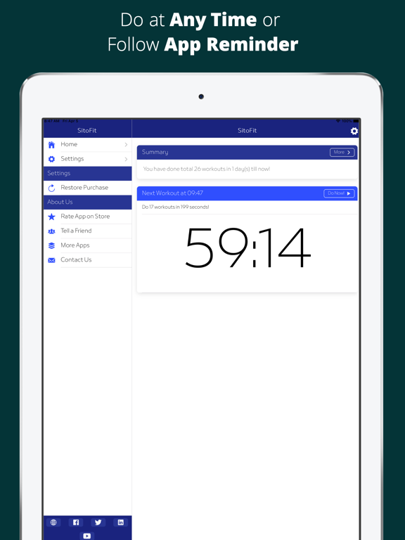 SitoFit - Office Workout screenshot 8