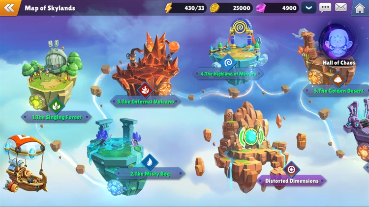 Skylanders™ Ring of Heroes screenshot-8