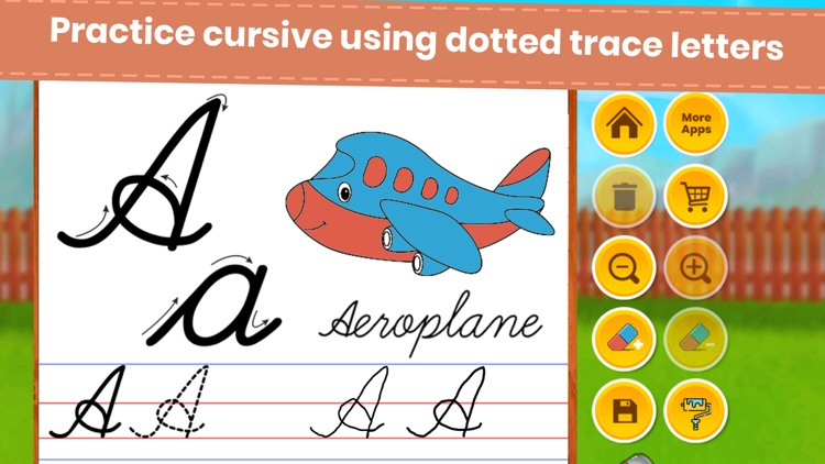 Abc Cursive Writing Practice screenshot-3