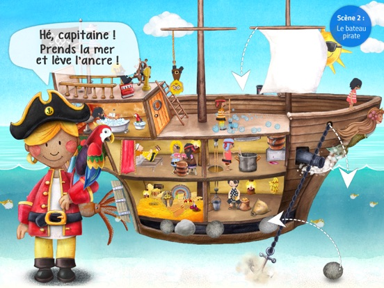 Screenshot #6 pour Mini Pirates