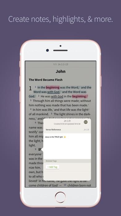 NIV Bible App + screenshot four