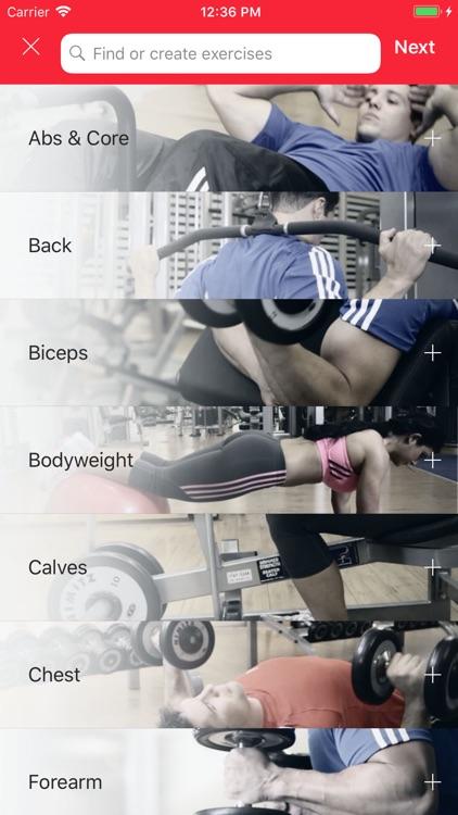 MyTraining Workout Tracker Log