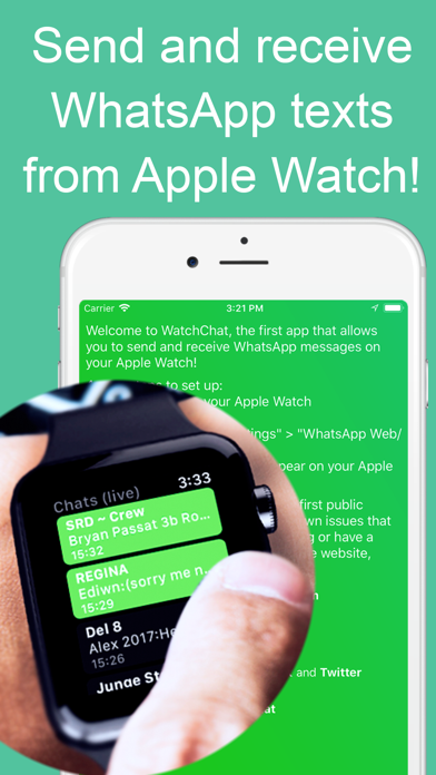WatchChat 2: for WhatsApp iphone картинки
