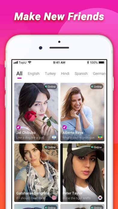 TopU—Let's video chat