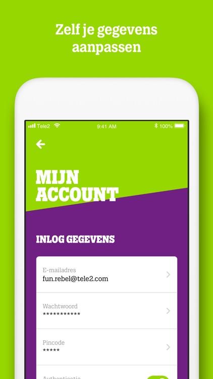MijnTele2 App screenshot-3