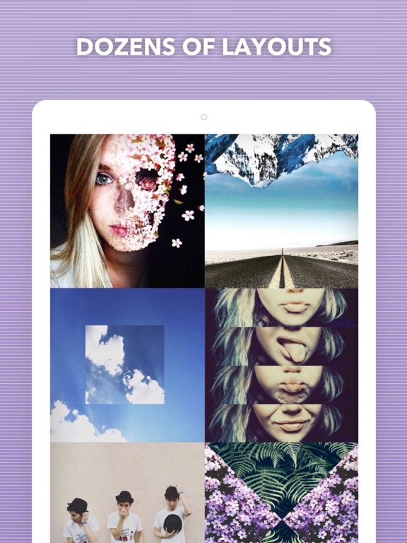 Split Pic - Layout Collage Maker & Photo Editor screenshot