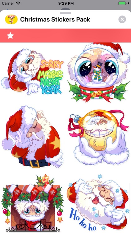 Christmas Stickers Pack ! screenshot-4