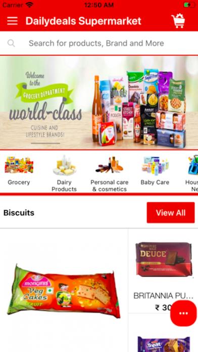 Dailydeals Supermarket screenshot 1