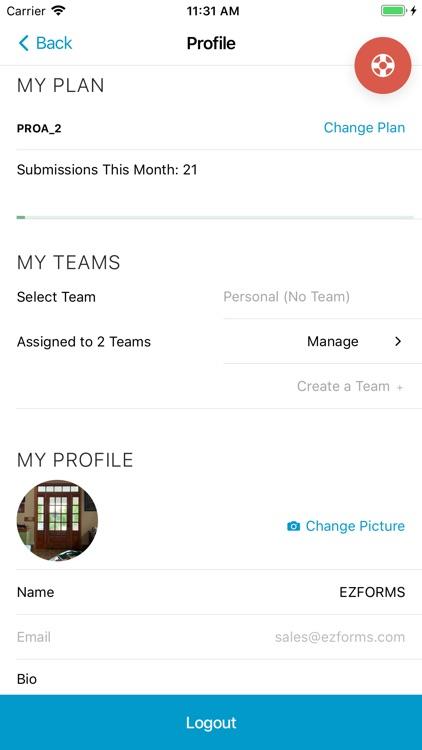EZFORMS Mobile Forms screenshot-9