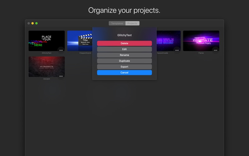 IntroMate - Intro Maker for Mac