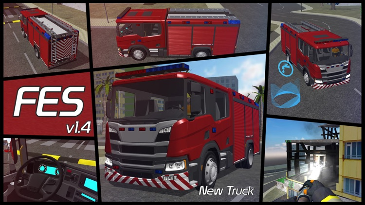 Fire Engine Simulator screenshot-0