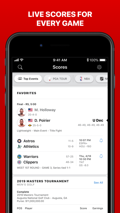 Download ESPN: Live Sports & Scores for Android