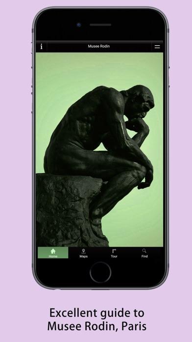Rodin Museum Guide screenshot one