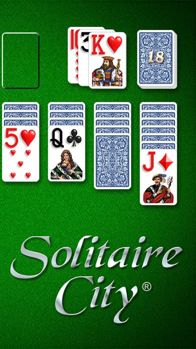 Screen Shot Solitaire City 1