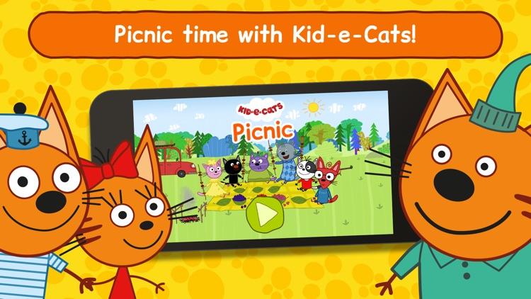 Kid-E-Cats Picnic For Children screenshot-0