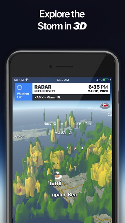 Weather Lab - 3D Radar screenshot-4