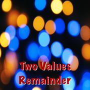 Two Values Remainder