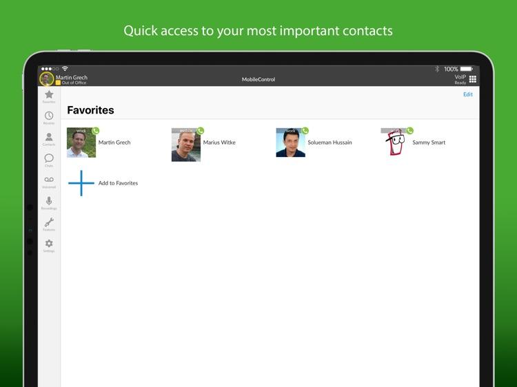 TELES MobileControl for iPad screenshot-3