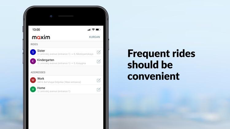 maxim — order taxi & delivery screenshot-4