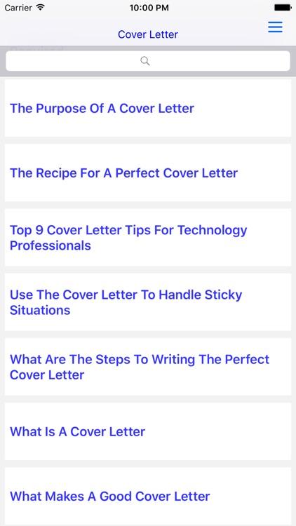 Cover Letter screenshot-4