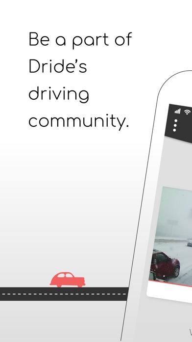 Dride - Dashcam Manager screenshot one