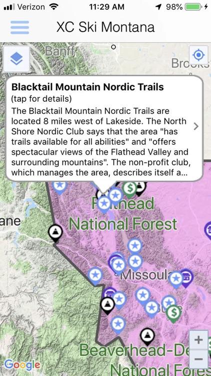 Cross Country Ski Montana screenshot-4
