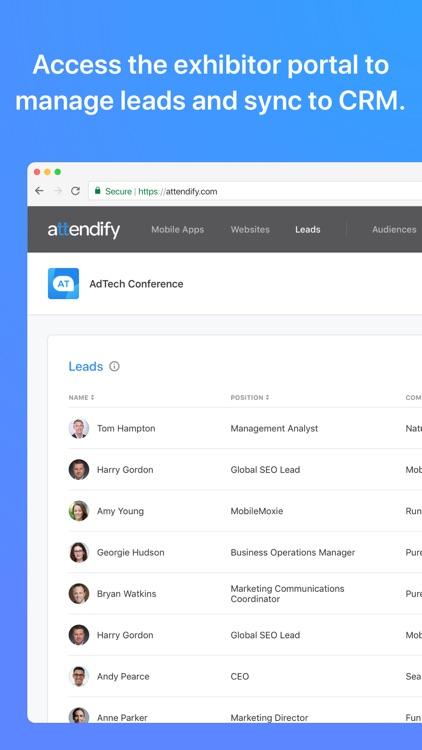 Lead Retrieval by Attendify screenshot-4
