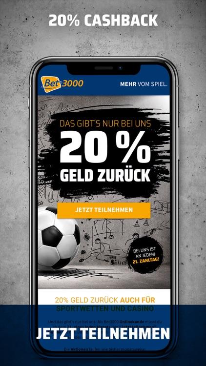 Bet3000 Sportwetten App screenshot-3