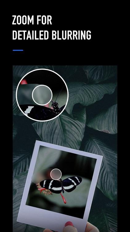 Blur Photo Editor Background screenshot-4
