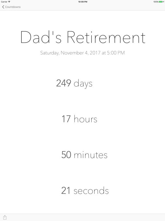 DownCount Countdown Timer Screenshots
