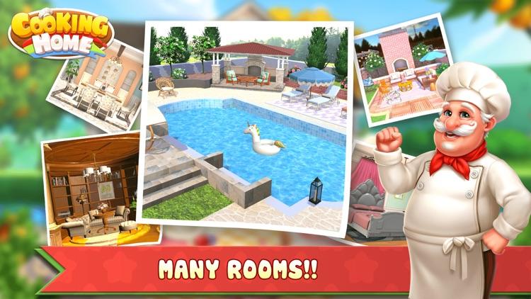 Cooking Home: Cooking & Design screenshot-4