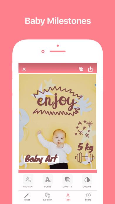 Baby Art - Photo Editor screenshot three
