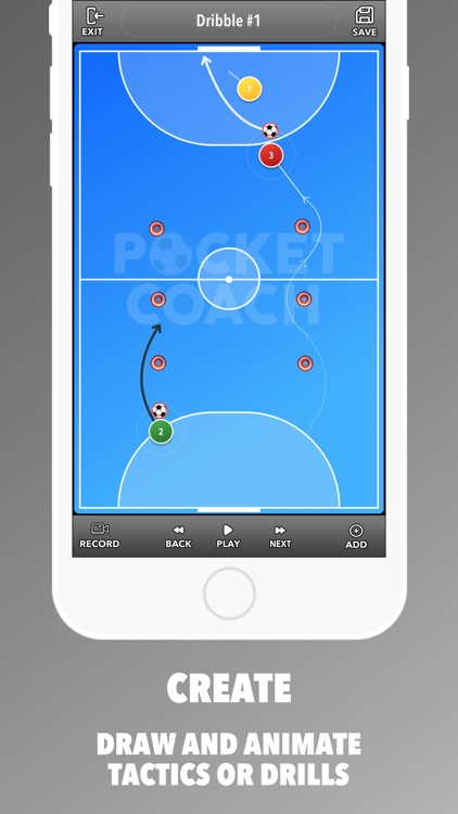 Pocket Coach for Futsal screenshot-1