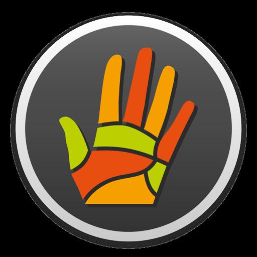 Massage Maps • Рефлексология Mac OS X