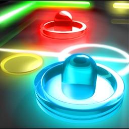 Hockey Neon Disc