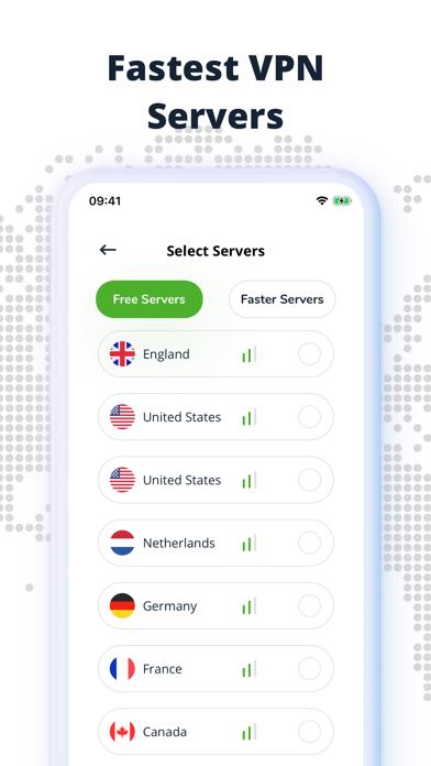 VPN Hypernet - Hotspot Proxy screenshot 2