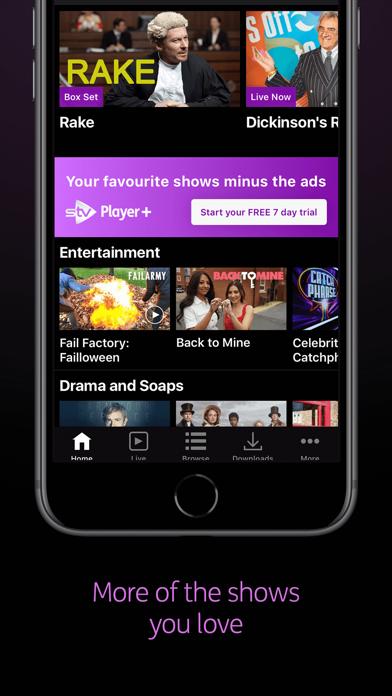 STV Player screenshot two