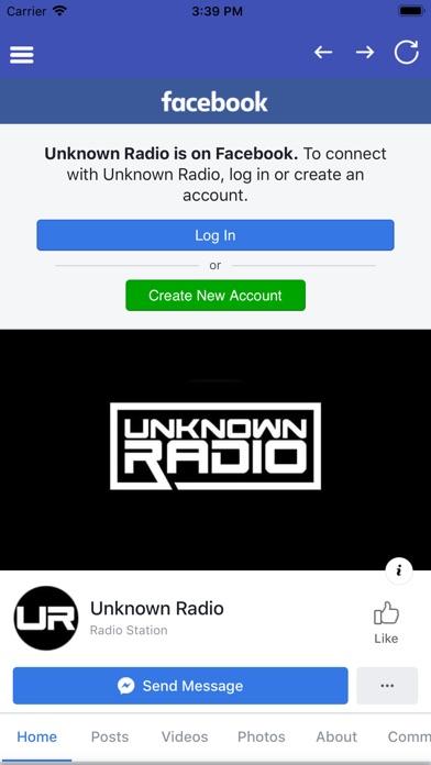 Unknown Radio app image