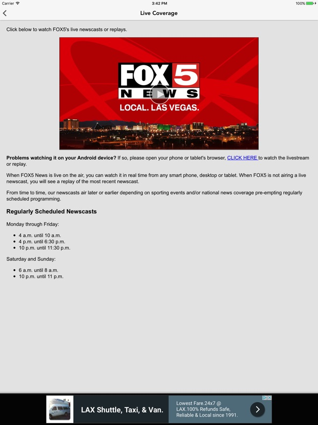 FOX 5 LAS VEGAS - YESCO Featured on Fox 5 News Las Vegas