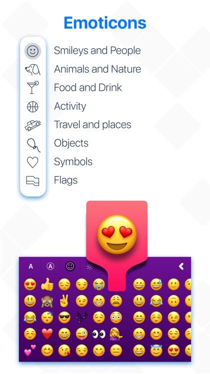 Keyboard Characters & Symbols screenshot-5