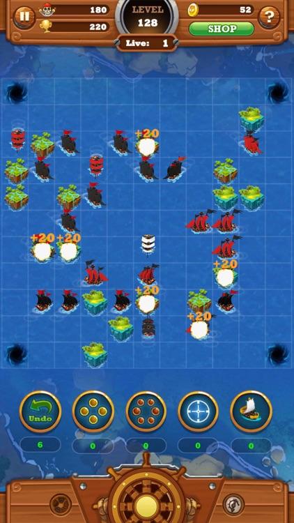 Seven Ships Battle: Pirate Sea screenshot-5
