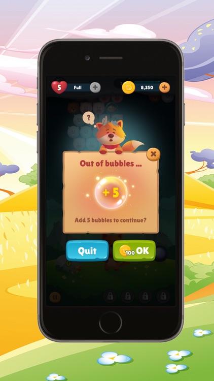 bubble shooter : pop bubbles screenshot-4