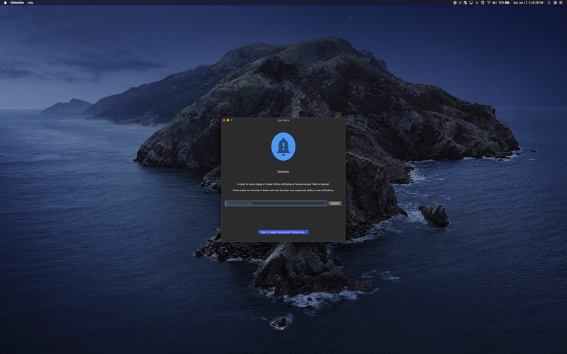 GitNotifier for Mac