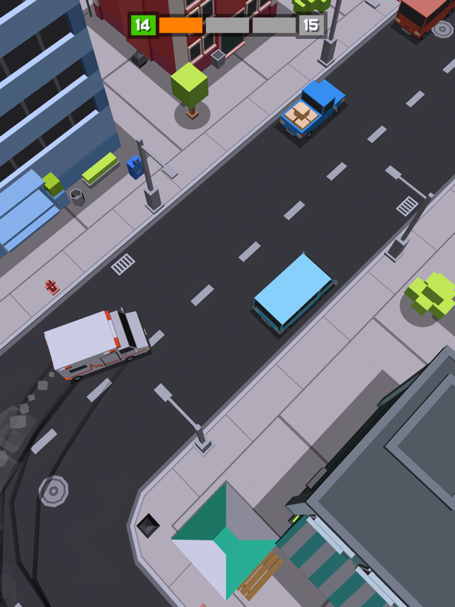 Blocky Ride, game for IOS