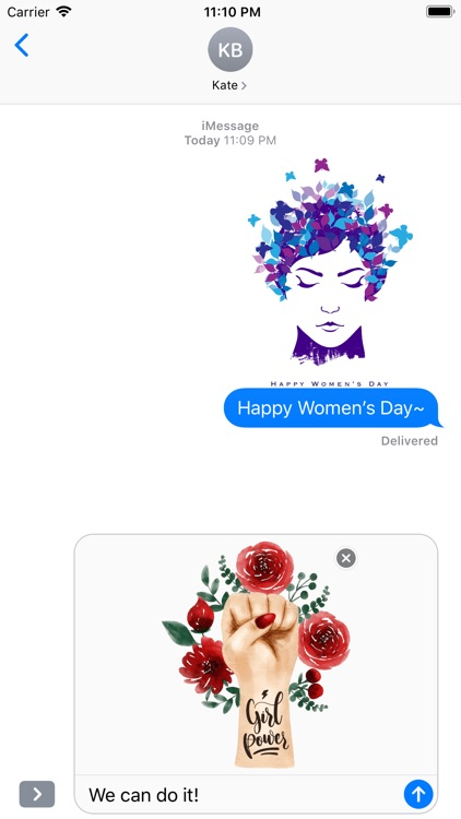 All about Happy Women's Day