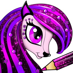 PONY Coloring Pages for Girls