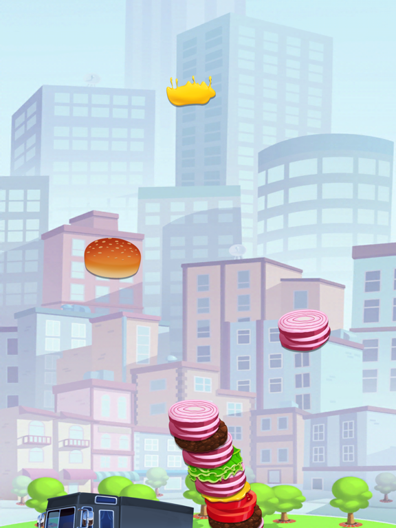 Sky Burger - Build & Match Food Free screenshot