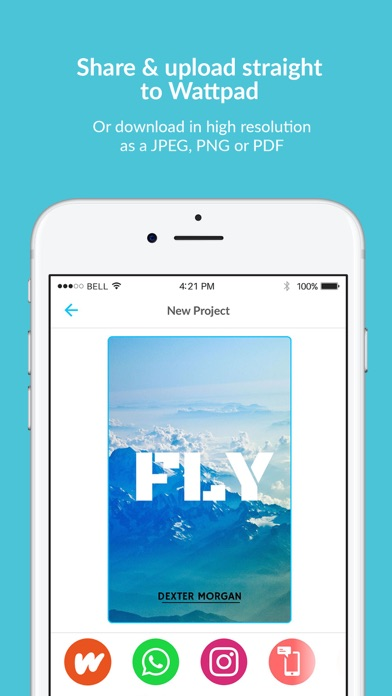 Book Cover Maker by Desygner App Data & Review - Photo